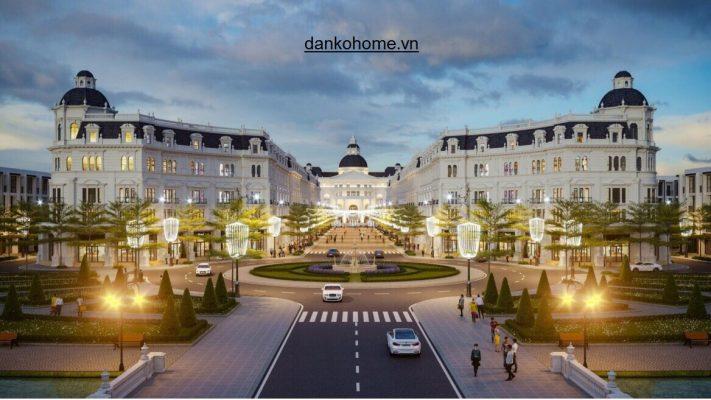 Biệt thự Thái nguyên, căn hộ đẳng cấp, sang trọng phong cách châu Âu