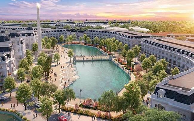 Toàn cảnh dự án bất động sảndanko city Thái Nguyên