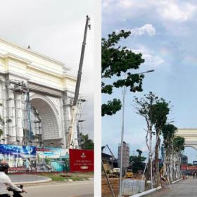 tiến độ dự án Danko City